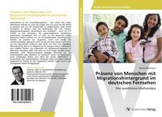 Borítókép a  Präsenz von Menschen mit Migrationshintergrund im deutschen Fernsehen - hoz