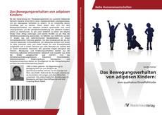 Bookcover of Das Bewegungsverhalten von adipösen Kindern: