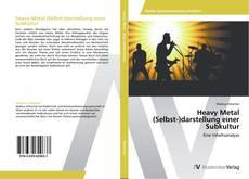 Buchcover von Heavy Metal (Selbst-)darstellung einer Subkultur