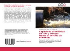 Bookcover of Capacidad asimilativa de ríos y arroyos frente al vertido de efluentes