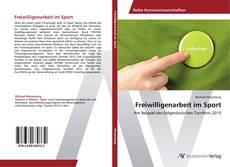 Обложка Freiwilligenarbeit im Sport