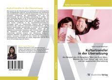 Bookcover of Kulturtransfer in der Übersetzung