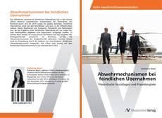 Bookcover of Abwehrmechanismen bei feindlichen Übernahmen