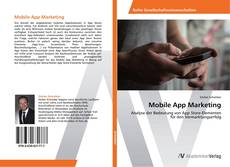 Buchcover von Mobile App Marketing