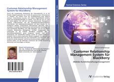 Buchcover von Customer Relationship Management System für BlackBerry
