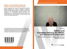 Buchcover von Selbst- und Fremdbeurteilung der HRQoL bei Demenzerkrankungen