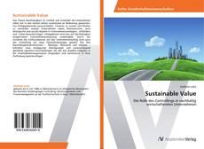 Sustainable Value kitap kapağı