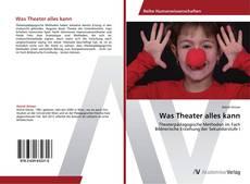 Capa do livro de Was Theater alles kann