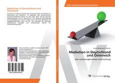 Borítókép a  Mediation in Deutschland und Österreich - hoz