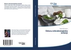 Capa do livro de Ēdienu mikrobioloģiskie kritēriji