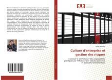 Bookcover of Culture d'entreprise et gestion des risques