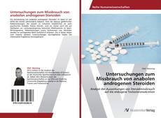 Обложка Untersuchungen zum Missbrauch von anabolen androgenen Steroiden