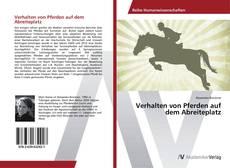 Buchcover von Verhalten von Pferden auf dem Abreiteplatz