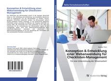 Buchcover von Konzeption & Entwicklung einer Webanwendung für Checklisten-Management