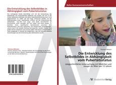Buchcover von Die Entwicklung des Selbstbildes in Abhängigkeit vom Pubertätsstatus