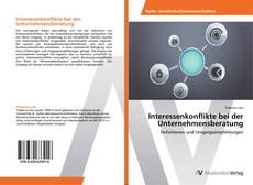 Bookcover of Interessenkonflikte bei der Unternehmensberatung