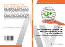 Bookcover of Kritische Erfolgsfaktoren für ERP-Systeme in der Post-Implementierung