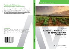 Bookcover of Auslösende Faktoren der Bodenmüdigkeit in Rebschulen