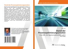 Capa do livro de Stand der Prozessoptimierungsansätze