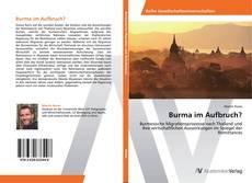 Bookcover of Burma im Aufbruch?