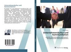 Borítókép a  Unternehmenskultur und Kommunikation - hoz