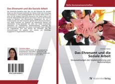 Copertina di Das Ehrenamt und die Soziale Arbeit