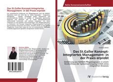 Capa do livro de Das St.Galler Konzept-Integriertes Management- in der Praxis erprobt