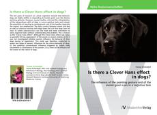 Couverture de Is there a Clever Hans effect in dogs?