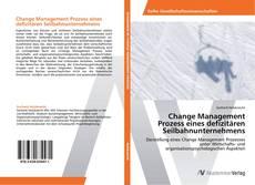 Bookcover of Change Management Prozess eines defizitären Seilbahnunternehmens