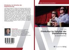 Filmkultur im Zeitalter der Digitalisierung的封面