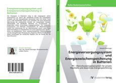 Bookcover of Energieversorgungssystem und Energiezwischenspeicherung in Batterien