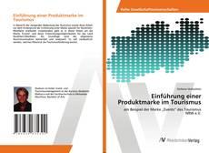 Buchcover von Einführung einer Produktmarke im Tourismus