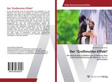 "Bookcover of Der ""Großmutter-Effekt"""