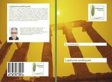 Ligatures poétiques kitap kapağı
