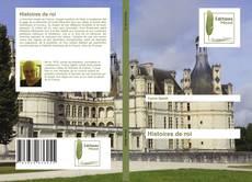 Histoires de roi kitap kapağı