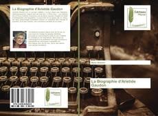Portada del libro de La Biographie d'Aristide Gaudon