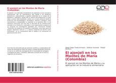 Capa do livro de El ajonjolí en los Montes de María (Colombia)
