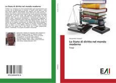 Buchcover von Lo Stato di diritto nel mondo moderno