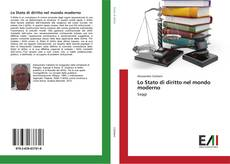 Lo Stato di diritto nel mondo moderno kitap kapağı