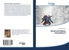 Buchcover von Idrott och hälsa i interaktion?