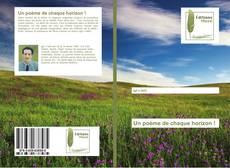 Bookcover of Un poème de chaque horizon !
