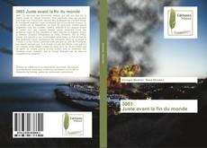Buchcover von 3003 Juste avant la fin du monde
