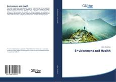 Bookcover of Environment and Health