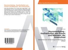 Buchcover von Neuromarketing - Kaufverhalten von Frauen und Männern: der Unterschied