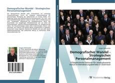 Capa do livro de Demografischer Wandel - Strategisches Personalmanagement