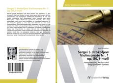 Borítókép a  Sergei S. Prokofjew Violinsonate Nr. 1 op. 80, f-moll - hoz