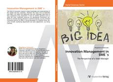 Bookcover of Innovation Management in SME`s