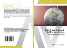 Copertina di Split-Ergativität und Split-Intransitivität