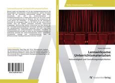 Couverture de Lernwirksame Unterrichtsmaterialien