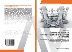 Buchcover von Kommunikation als Erfolgsfaktor einer Balanced Scorecard